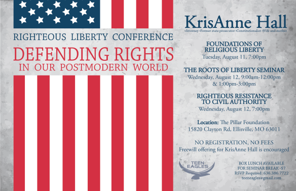 Righteous Liberty Conference Landscape